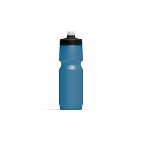 Cube Feather Drinking Bottle 750ml blue